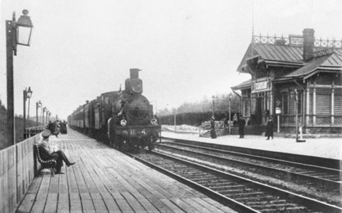 Платформа Мариентбург. Фото нач. XX в.