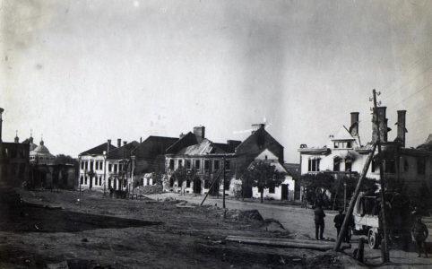 Подгайцы. 1917 г. Из коллекции Австрийской Национальной библиотеки