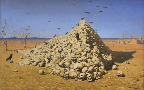 В. Верещагин. «Апофеоз войны». 1871 г.