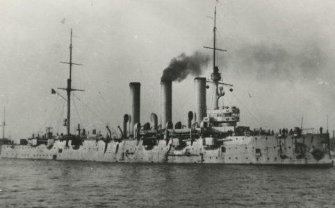 Крейсер «Аврора». 1917 г.
