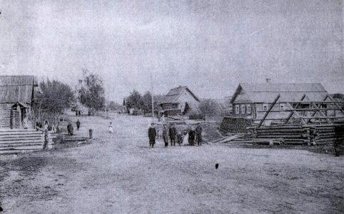 Бытошь. Фото нач. XX в. Источник: www. historydjatkovo.ucoz.ru