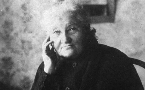 Е. К. Брешко-Брешковская. 1917 г.
