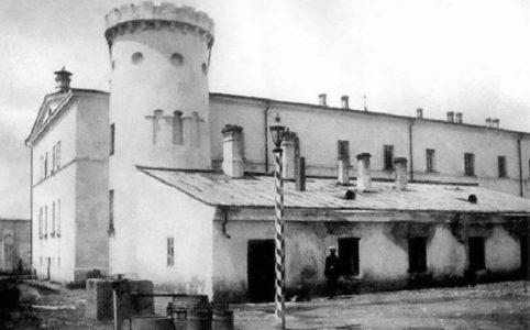 Бутырская тюрьма в Москве. 1890 г.