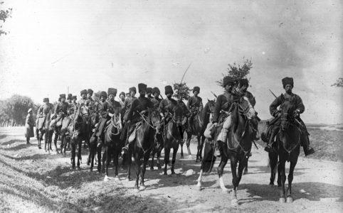 Казаки. Фото 1915 г.