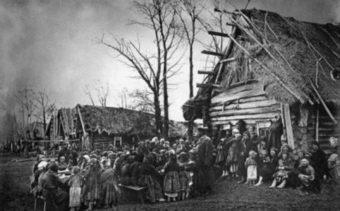 Русская деревня. 1910-е гг.