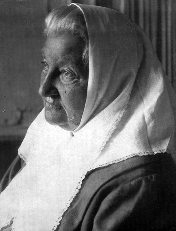 Екатерина Брешко-Брешковская. Фото 1910-1920-х гг.