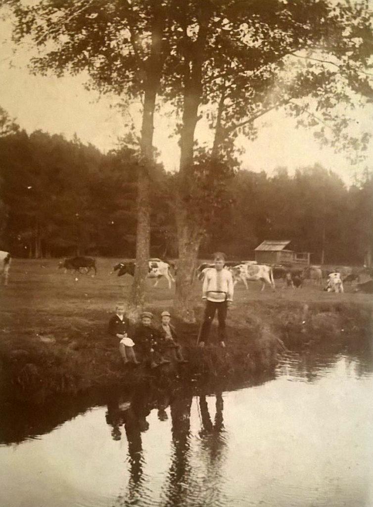 Село Фошня. Фото около 1909 г.