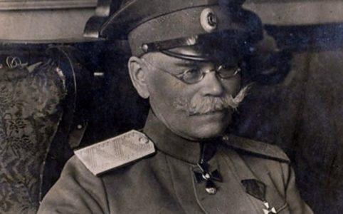 Генерал М. В. Алексеев. Фото 1910-х гг.
