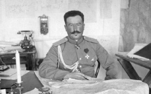 Генерал Н. Н. Духонин. Фото 1910-х гг.
