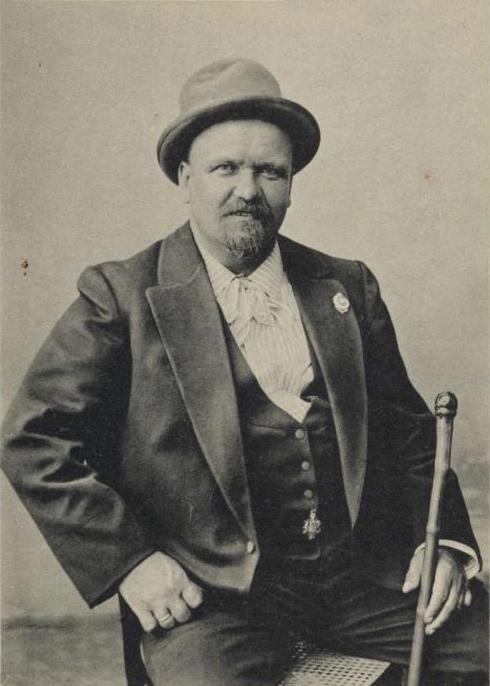 Владимир Гиляровский. Фото 1910-х гг.