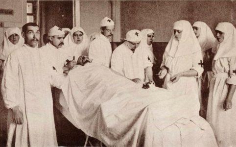Царскосельский госпиталь. Фото 1914-1916 гг.