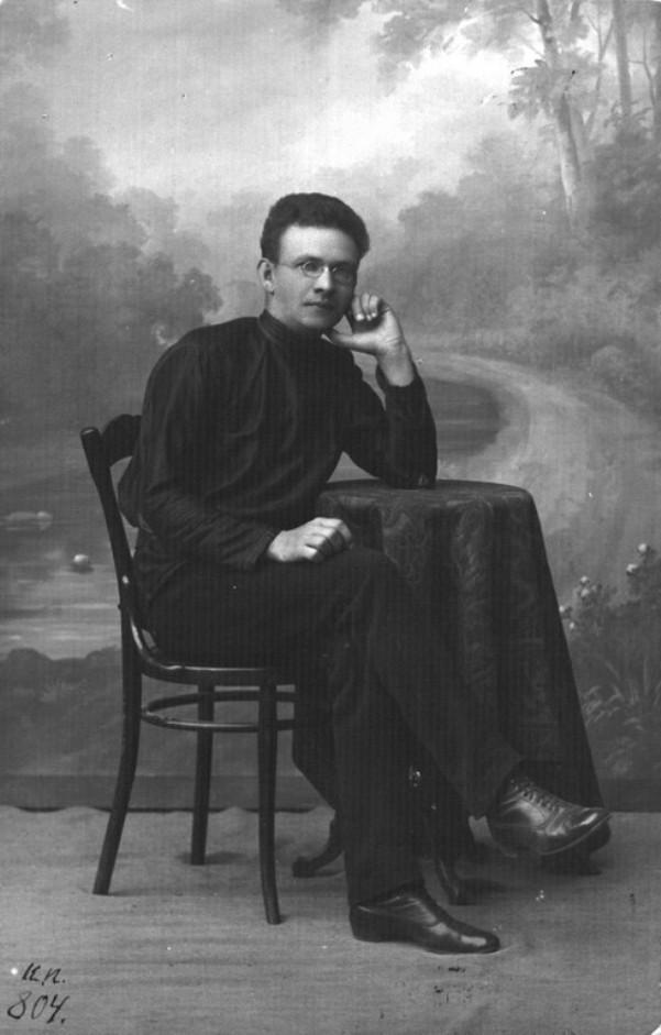 Игнат Фокин. Фото предположительно 1918 г.