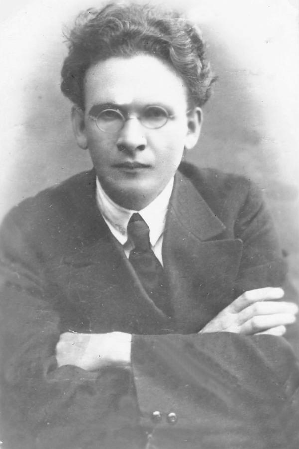 Игнат Фокин. Фото предположительно 1917-1919 гг.