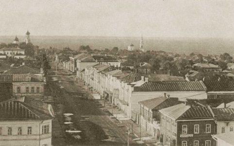 Общий вид Карачева. Фото с открытки конца XIX — начала XX в.