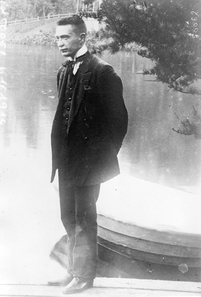 А. Ф. Керенский. 1917 г. Из коллекции Французской Национальной библиотеки