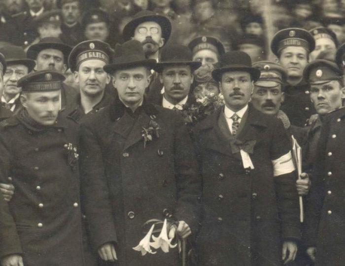 А. Ф. Керенский в Ревеле. Апрель 1917 г.
