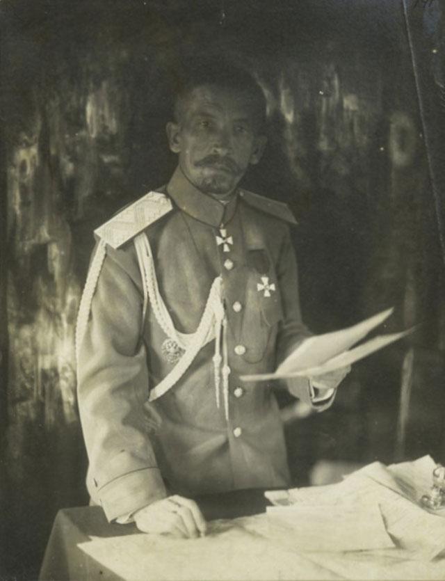 Лавр Корнилов. 1917 г.