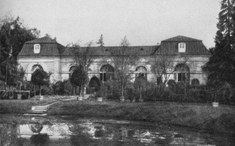 Дворцовый Парк в Гатчине. Лесная оранжерея. Фото 1900-х гг.