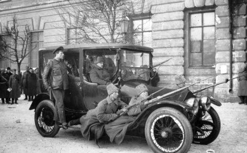 Летучий отряд по борьбе с полицией. Весна 1917 г.