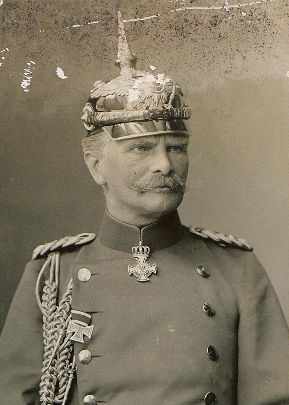 Генерал Август фон Макензен. Фото 1910-х гг.