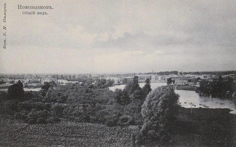 Общий вид Новозыбкова. Фото с открытки 1900-1910х гг. Источник: www.novozybkov.ru