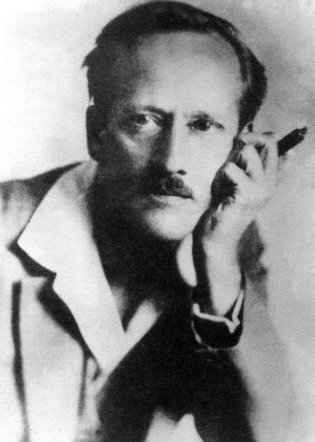Михаил Осоргин. Фото предположительно 1920-е гг.