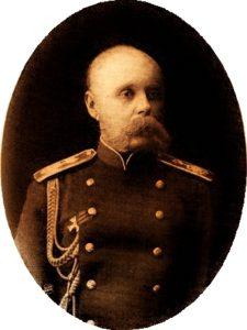 Сергей Николаевич Розенбах, управляющий имениями Великого княя Михаила Александровича в Орловской губернии.