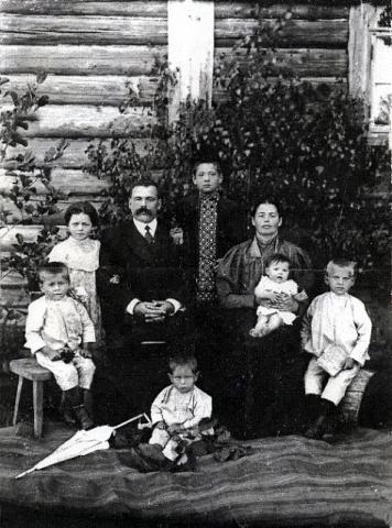 Семья Рылько. 1920-е гг. Из личного архива Н. П. Рылько.