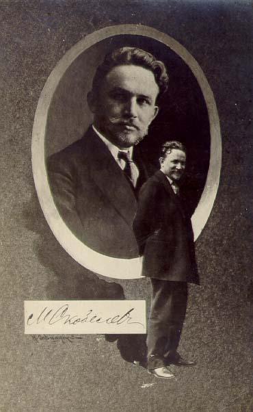Матвей Иванович Скобелев. Открытка 1910-е гг.
