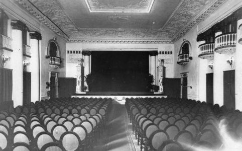 Кинотеатр «Сплендид-Палас». Зрительный зал. 1910-е гг.
