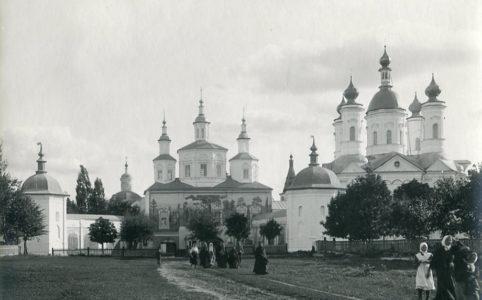 Свенский монастырь. Фото нач. XX в.