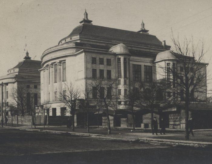 Театр «Эстония» в Ревеле. Фото 1900-1910-х гг.