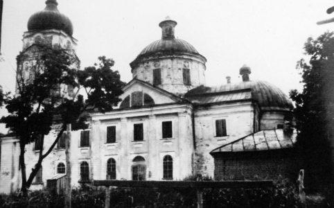 Георгиевская церковь в Трубчевске.