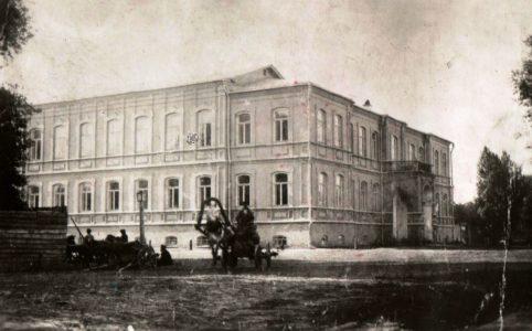 Здание Трубчевской земской управы. Фото конца XIX в.
