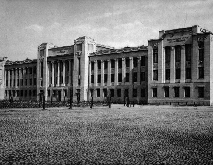 Московский городской народный университет имени А. Л. Шанявского. Фото 1910-х гг.