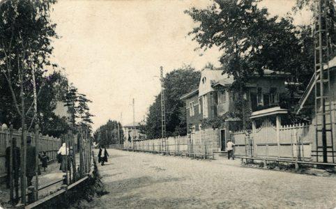 Вокзальная улица в Бежице. Фото с открытки 1914 г. Источник: группа ВК «Брянск глазами разных поколений»