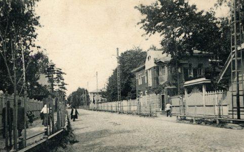 Главная вокзальная улица Бежицы. Фото 1914 г. Из коллекции группы ВК «Брянск глазами разных поколений».