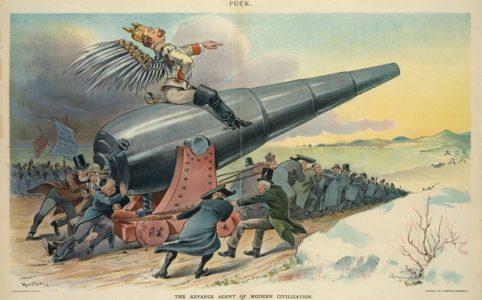 Карикатура на Вильгельма II. 1914-1917 гг.