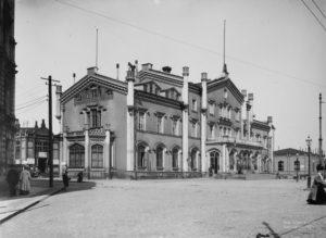 Вокзал в Хельсинки. Фото 1900-х гг.
