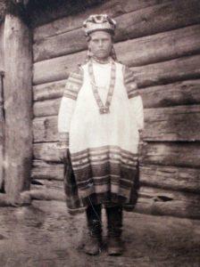 Крестьянка Севского уезда Орловской губернии. Конец 1910-х - нач. 1920-х гг.
