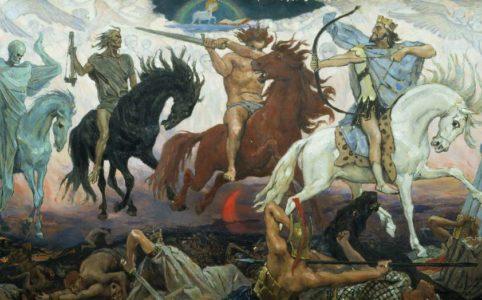 Воины Апокалипсиса. Худ. В. Васнецов. 1887 г.