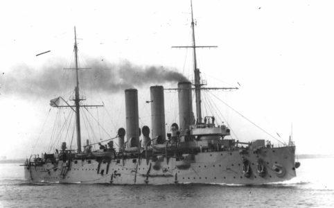 Крейсер «Аврора». Фото 1916 г.