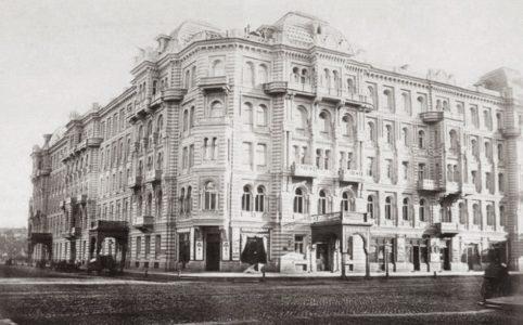 Доходный дом князя А. Д. Мурузи. Фото 1870-1880х гг.