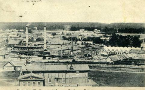 Дятьково. Общий вид фабрики фото нач. XX в.