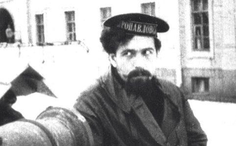 Павел Ефимович Дыбенко. Фото предположительно 1917-1918 гг.