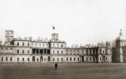 Гатчинский дворец. Фото 1900-1915 гг.