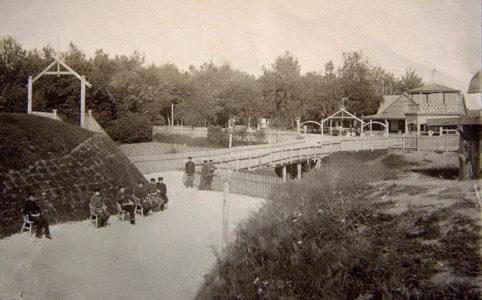 Городской сад в Трубчевске. Фото нач. XX в. Источник: www.trubchevsk.pro