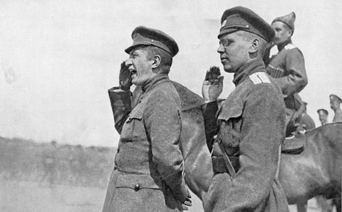 А. Ф. Керенский на фронте. Июнь-июль 1917 г.