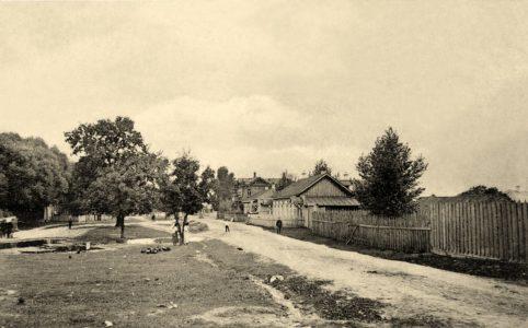 Бежица. Красная (Церковная) дорожка. Фото с открытки 1914 г. Источник: группа ВК «Брянск глазами разных поколений»