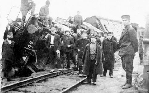 Крушение поезда. Разъезд Хребет, 21 (8) сентября 1906 г.